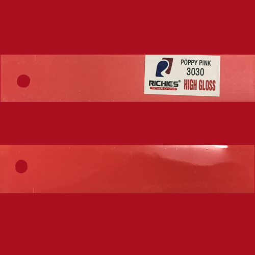 Poppy Pink High Gloss Edge Band Tape