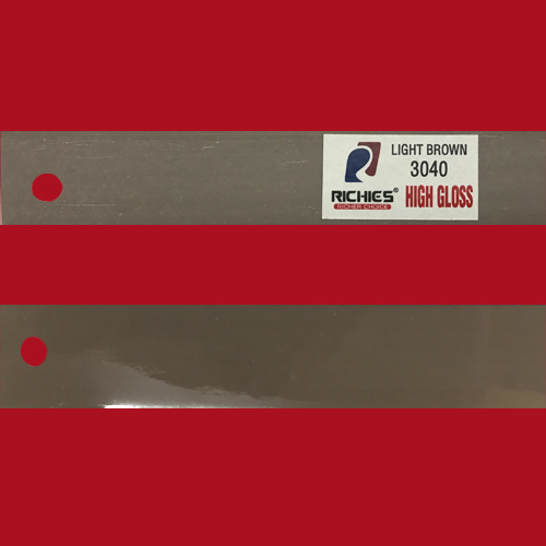 Light Brown High Gloss Edge Band Tape