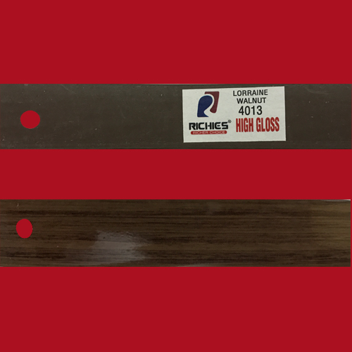 Lorraine Walnut High Gloss Edge Band Tape