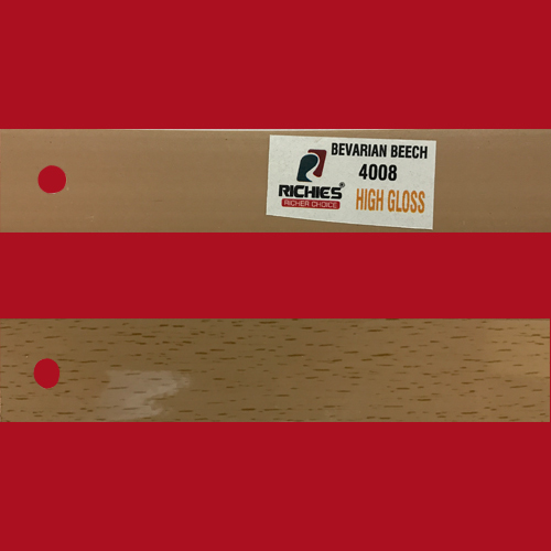 Bevarian Beech High Gloss Edge Band Tape