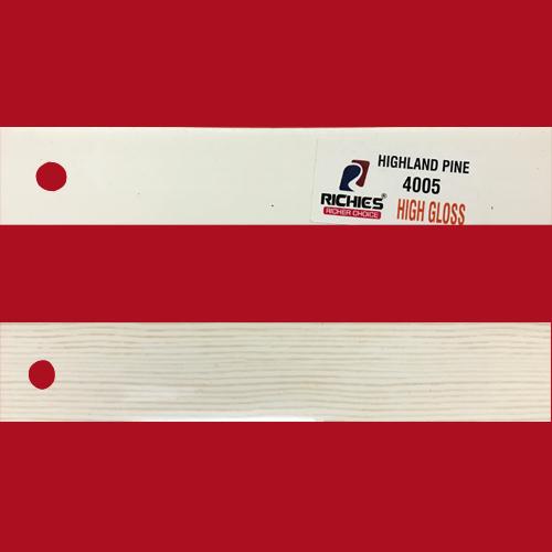 Wood Grain Super Hi-Gloss Edge Band Tape
