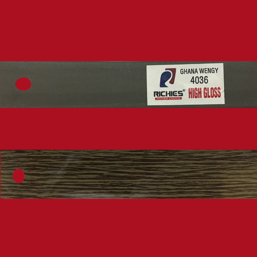 Wood Grain Super Hi-Gloss Edge Band Tape