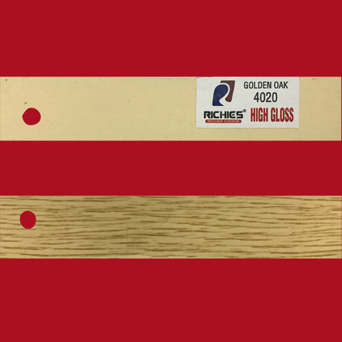Golden Oak High Gloss Edge Band Tape