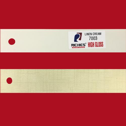 Linen Cream High Gloss Edge Band Tape