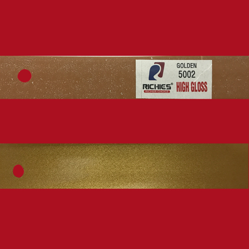 Golden High Gloss Edge Band Tape