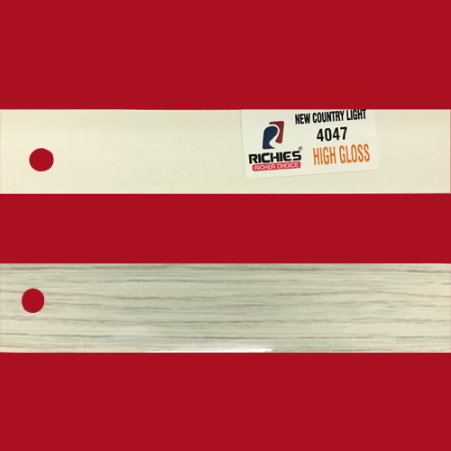 New Country Light High Gloss Edge Band Tape