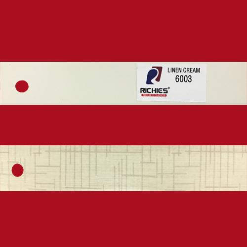 Linen Cream Edge Band Tape