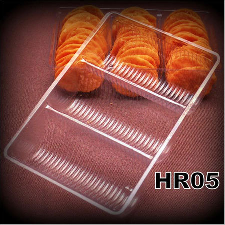 Salted Chips Plastic Container