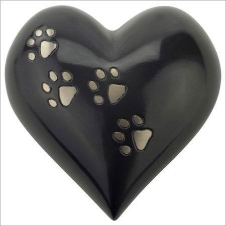 Paws Heart Urn