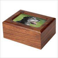 Photo Wood Pet Urn