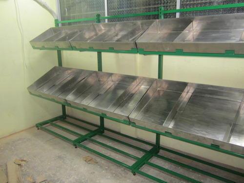 vegetable Racks Tube Type With SS Shelves