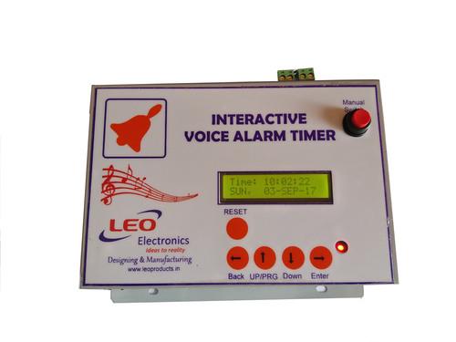 Interactive Voice Alarm Timer