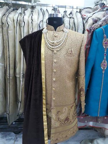 Designed sherwani