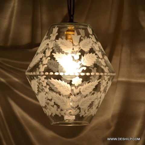 ball mosaic glass chandelier lantern hanging lamp light Onion Lamp Hanging Moroccan