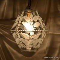 ball mosaic glass chandelier lantern hanging lamp light Onion Lamp Hanging Moroccan