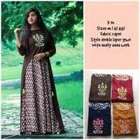 K Series Double Layer Kurti