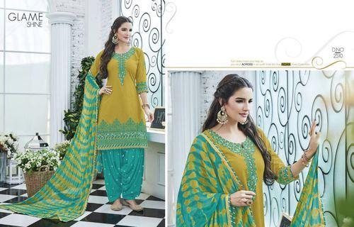 Designer Cotton Salawar Suit
