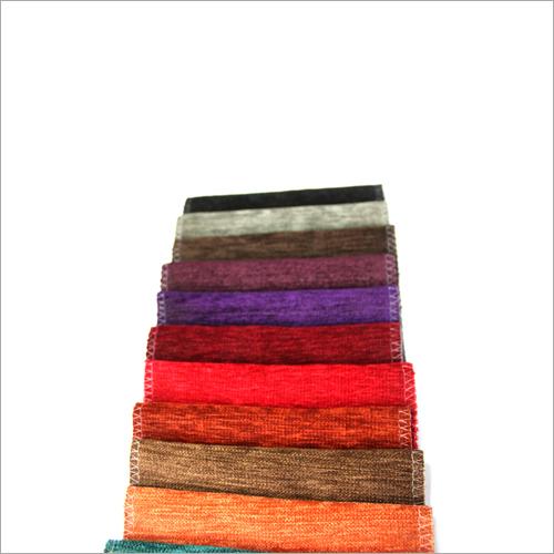 Colored Chenille Fabric