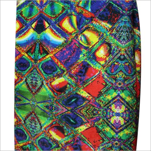 Digital Print Velvet Fabric