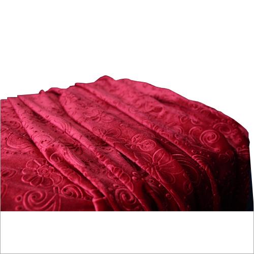 Embossed Velvet Fabric