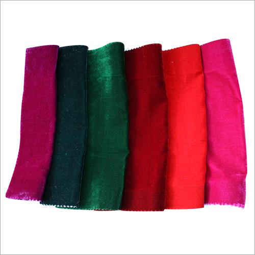 Plain Poly Velvet Fabric