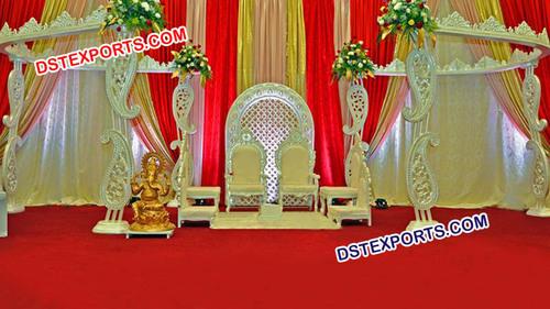 Wonderful Paisley Wedding Stages
