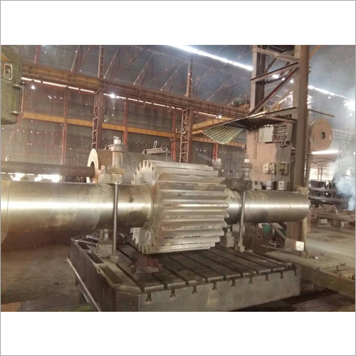 Industrial Forged Gear Pinion Shaft