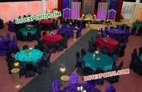 Colorful Table Chairs Cover for Marriage