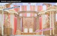 Wonderful Crystal Wedding Mandap