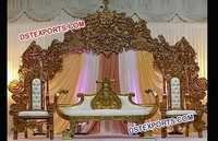 Traditional Wedding Stage Decoration