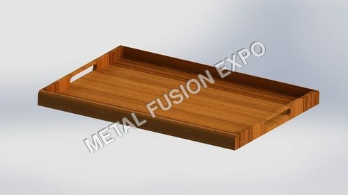 Flat Wooden Serving Tray