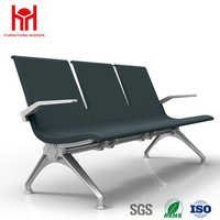 High quality leather waiting chair