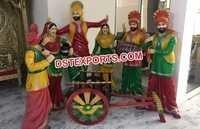 Punjabi Theme Bhangra Statue