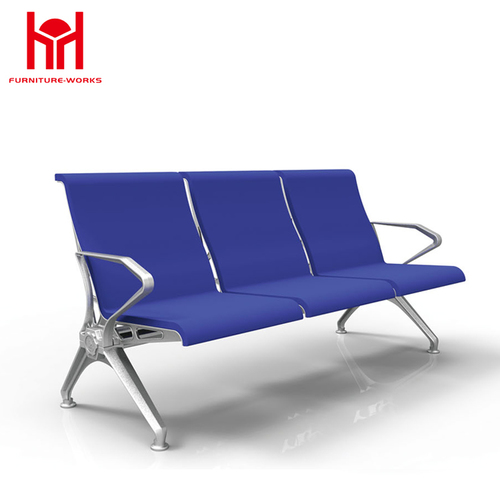 comfortable leather pu waiting chair