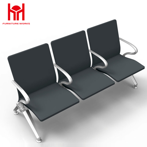 China factory leather pu waiting chair