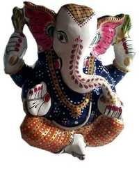 Metal Meenakari Ganesh