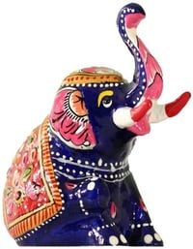 Metal Meenakari Appu Elephant