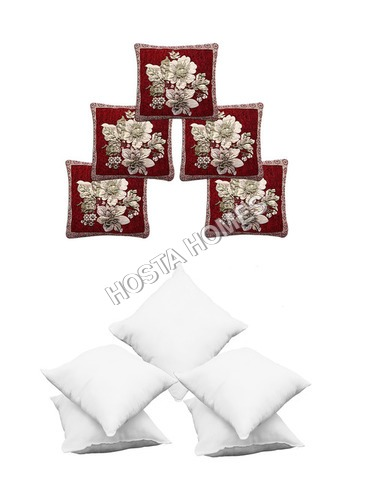 Multicolor Cushion Cover :: 5 Pieces Cushion Cover Combo
