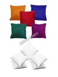 Multicolor Cushion Cover :: 5 Pieces Plain Cushion Cover Combo