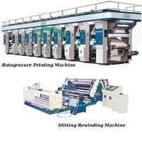 Rotogravure Printing & Slitting Rewinding Machine