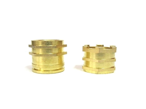 Brass Inserts for pipe fittings