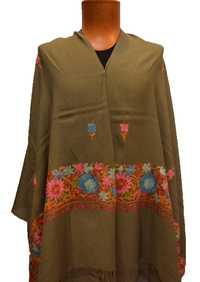 Kashmiri Embroidery Palla Shawl