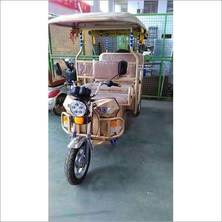 Three Wheeler E Battery Rickshaw