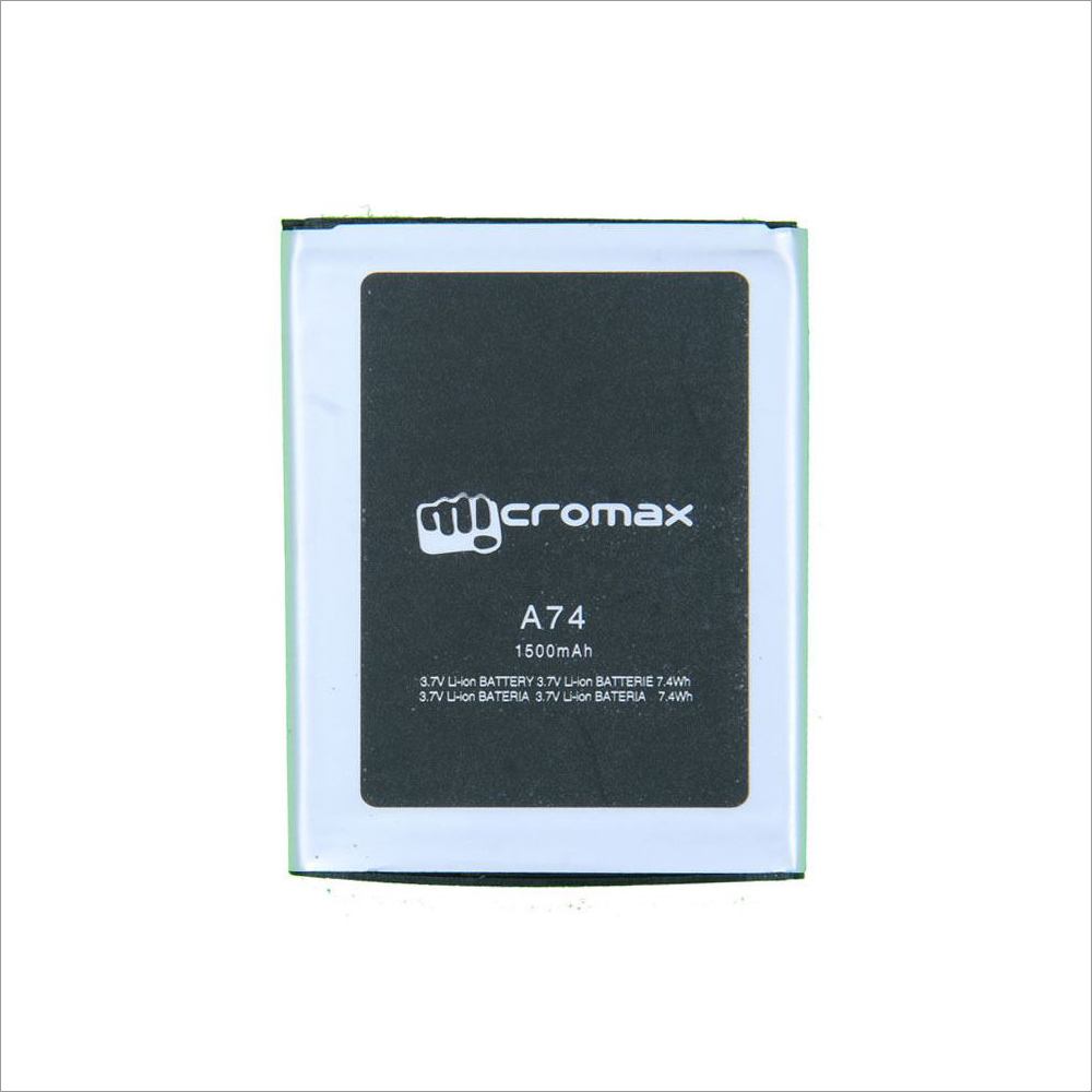 Battery For Micromax canvas Fun A74 mobile