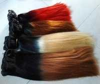 Synthetic Weft Hair