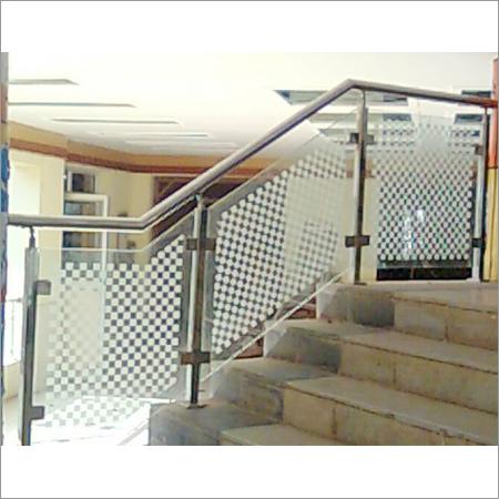 SS Glass Handrails