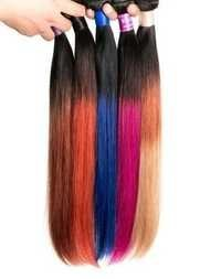 Synthetic Double Shade Hair Extension
