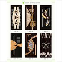 Digital Wooden Graphic Doors