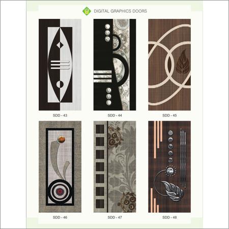 Digital Graphic Door