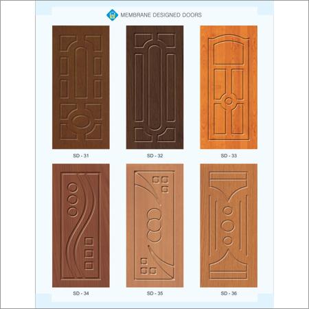 WPC Textured Membrane Door